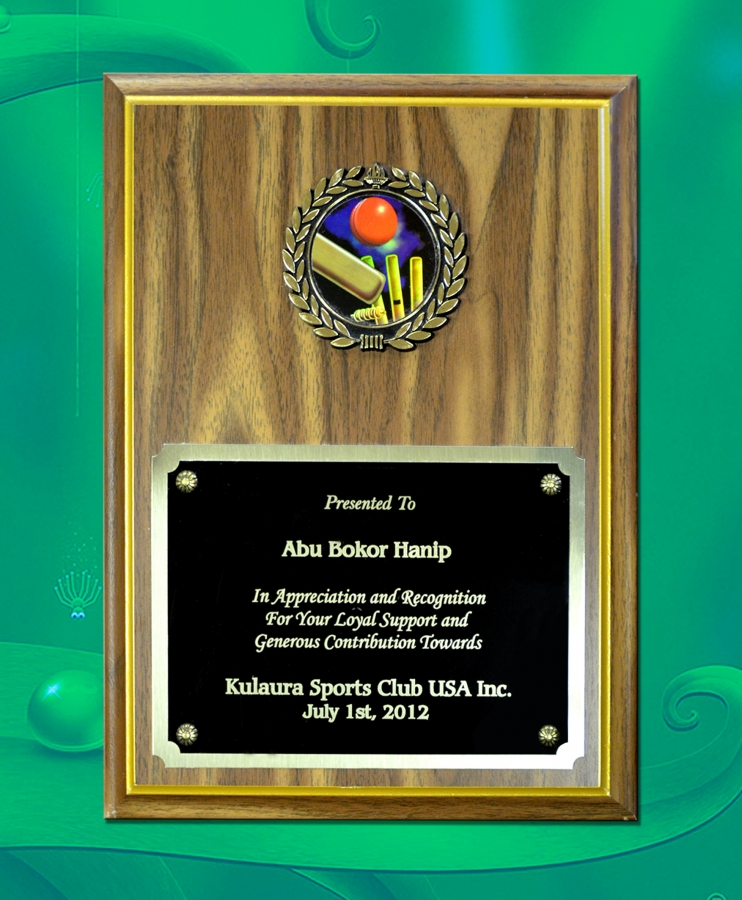 Awarded by Kulaura Sports Club USA Inc.