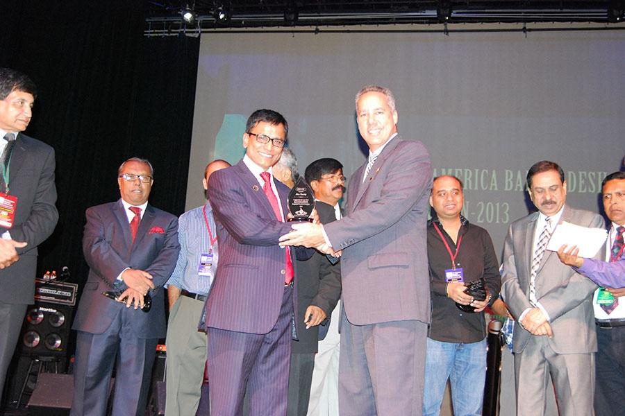 Bangladesh Association of Florida- Awarded in 2014